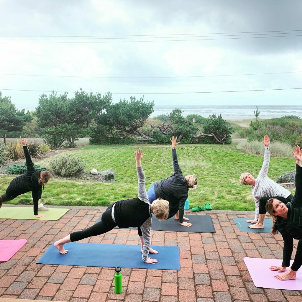 9.19 Rockaway Yoga Outside