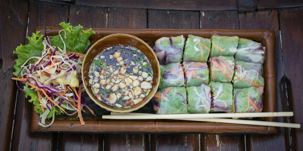 Mindful Eating - Vegetable Rolls